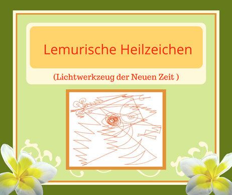 Lemurische Heilzeichen, Selbsthilfe
