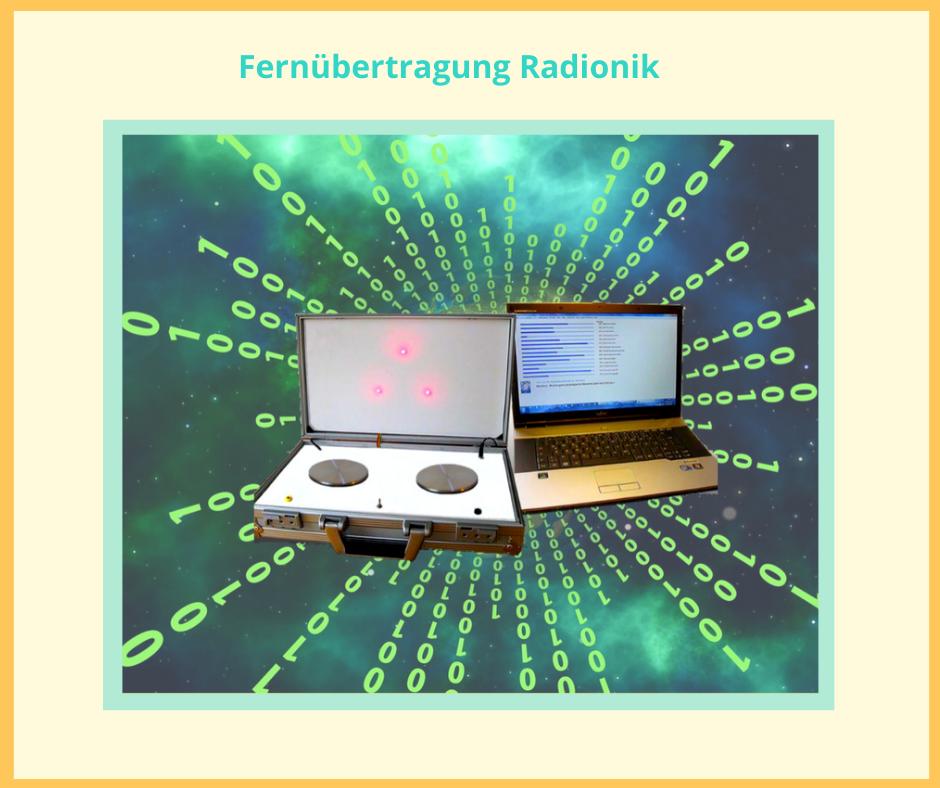 Radionik, Silke kitzmann, Fernübertragung